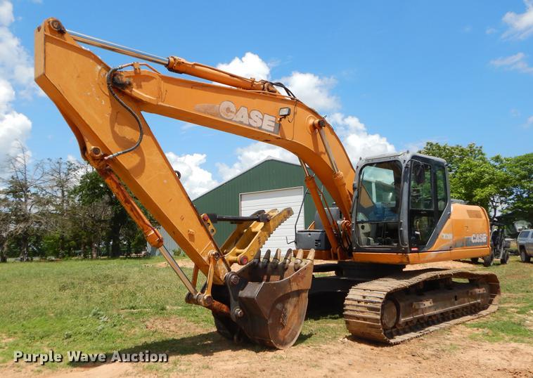 2008 Case CX210B excavator