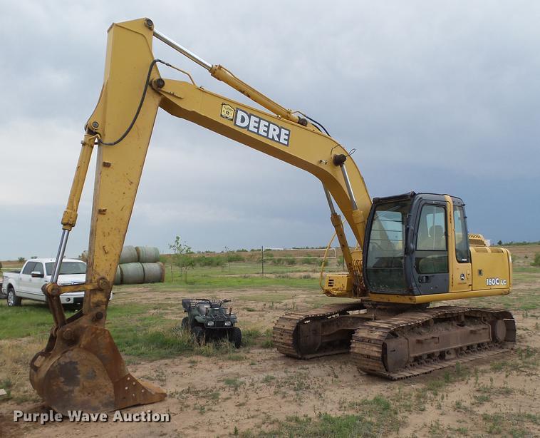 2007 John Deere 160C LC excavator