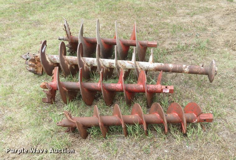 (4) auger bits