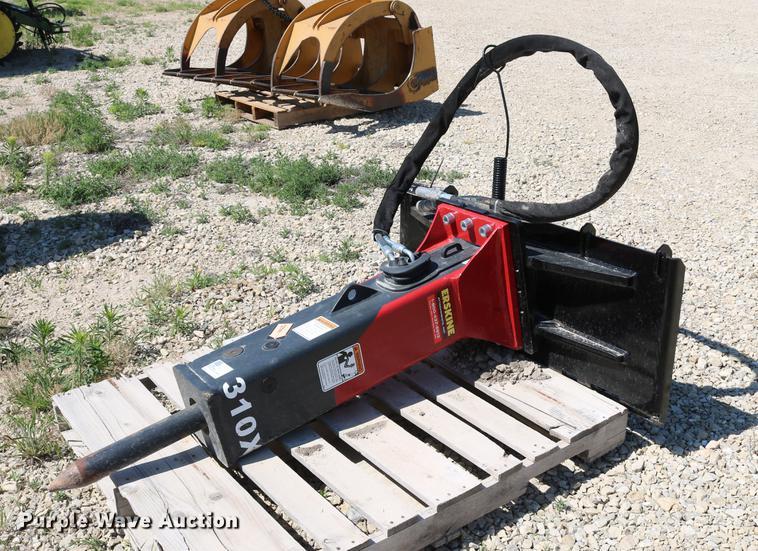 2014 Erskine X310 skid steer breaker