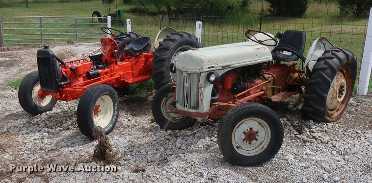 (2) Ford 8N tractors