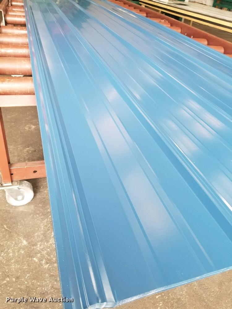 (51) sheets of ag panel steel roofing/metal siding