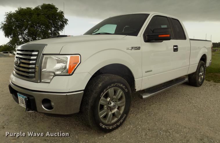 2012 Ford F150 XLT SuperCab pickup truck