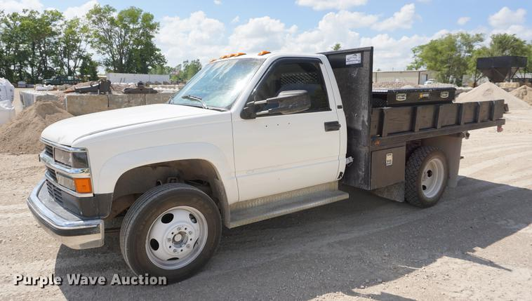 1994 Chevrolet 3500HD flatbed pickup truck
