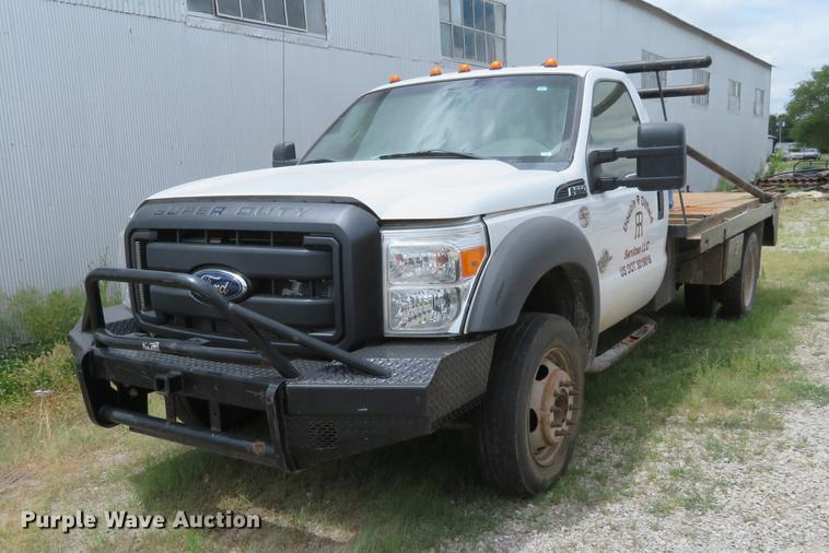 2012 Ford F550 cab and chassis