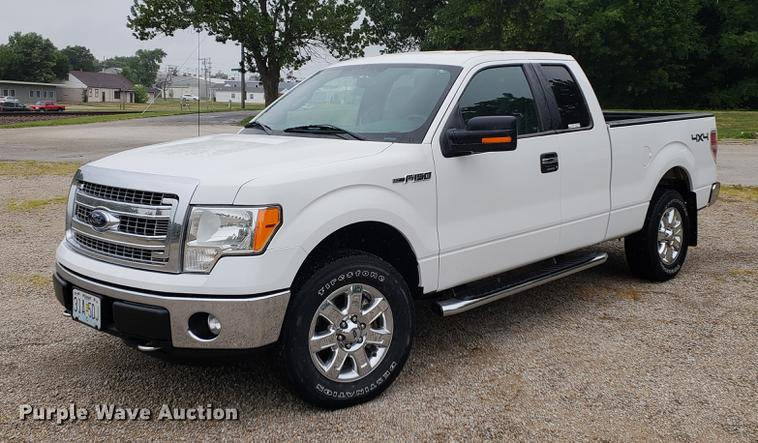 2014 Ford F150 SuperCab pickup truck