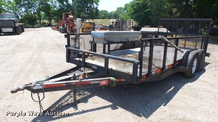 2001 ACT utility trailer