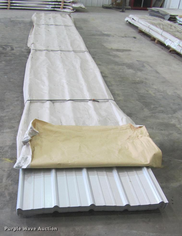 (52) sheets of metal siding/roofing