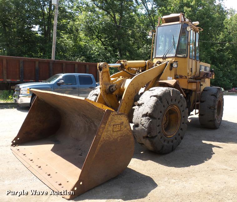 1991 Caterpillar 936E wheel loader