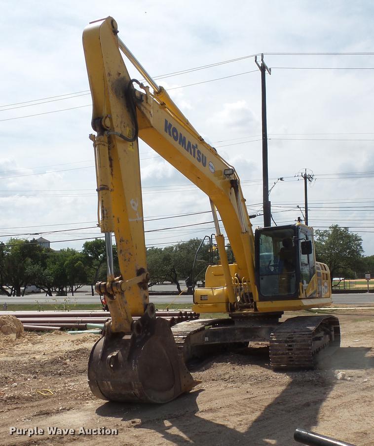 2013 Komatsu PC240LC-10 excavator