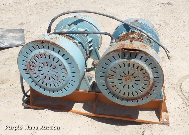 (2) Cleveland Vibrator Company RC-94-6-4 compactor