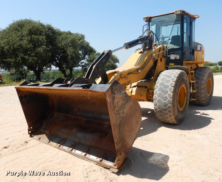 2012 Caterpillar 924H High Lift wheel loader