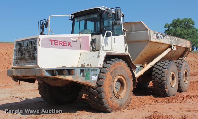 2001 Terex TA40 articulated haul truck