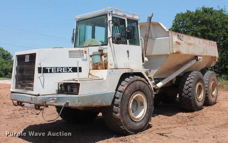 2003 Terex TA27 articulated haul truck