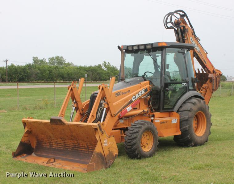2005 Case 590 Super M Series 2 backhoe