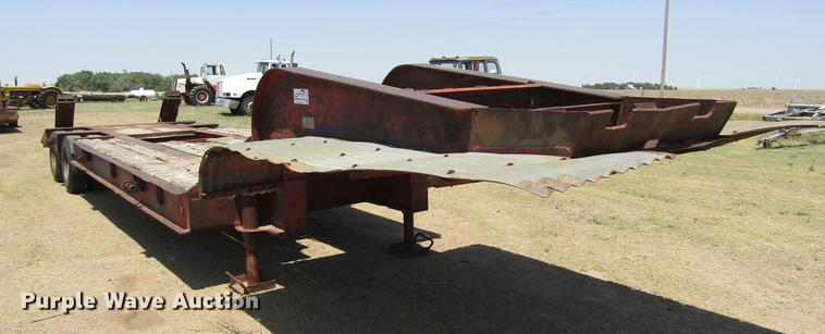 1972 Dorsey MTS-2C equipment trailer