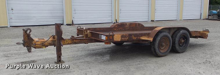 1979 Butler LT-1014 utility trailer