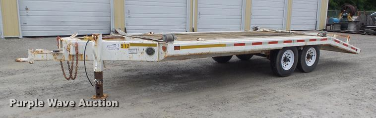 1976 Ditch Witch T12 equipment trailer