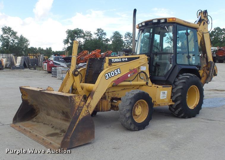 2000 John Deere 310SE backhoe