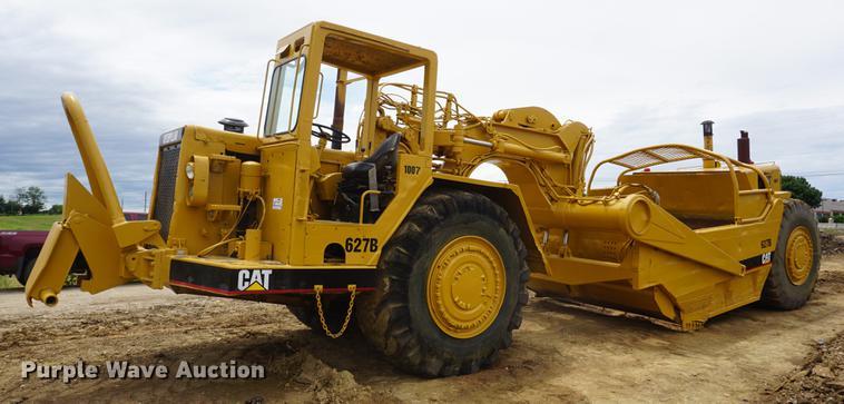 1977 Caterpillar 627B conventional scraper