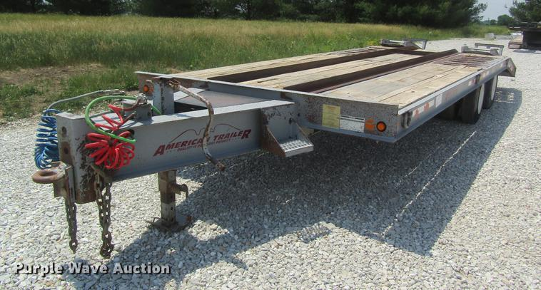 2002 American equipment trailer