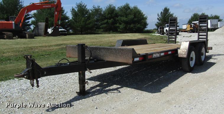 1997 Redi Haul FSL1629E equipment trailer