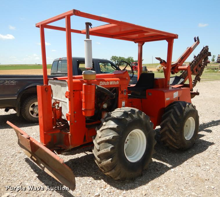 Ditch Witch R65 trencher