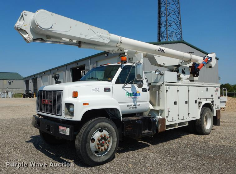 1999 GMC C7500 bucket truck