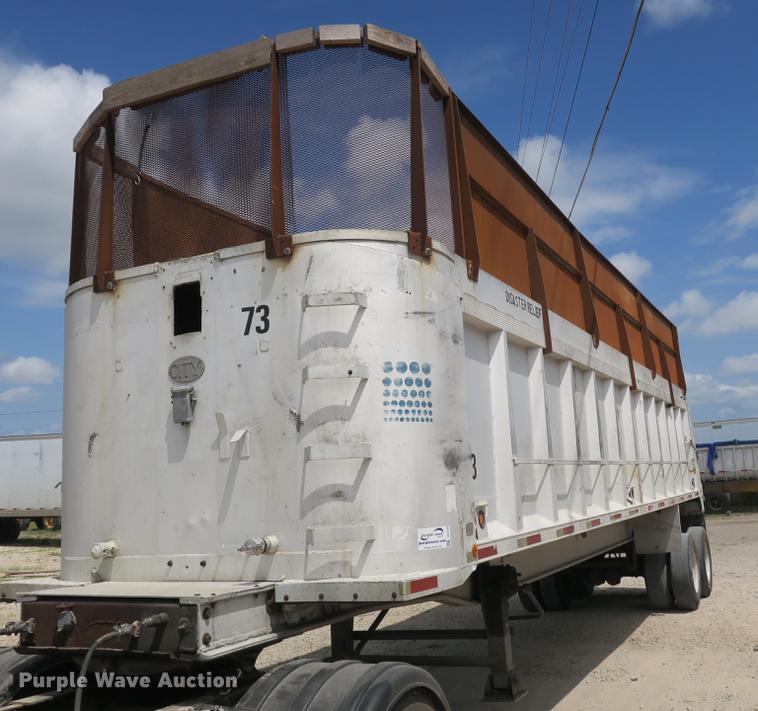 1979 City Welding end dump trailer