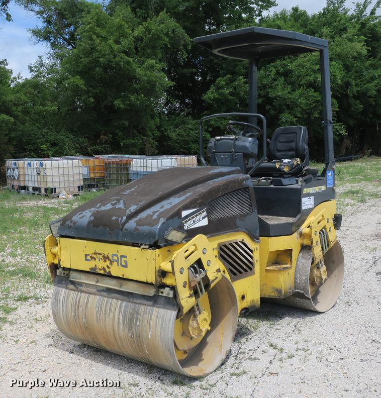 2006 Bomag BW120AD-4 double drum vibratory roller