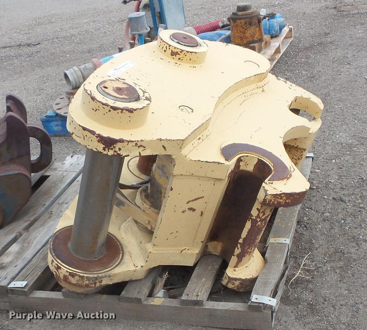 Excavator quick coupler