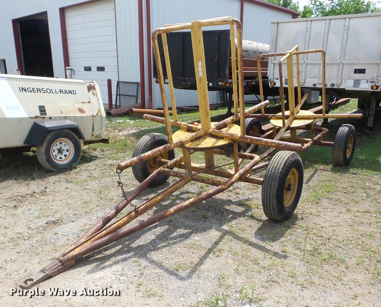 (2) shop built reel trailers