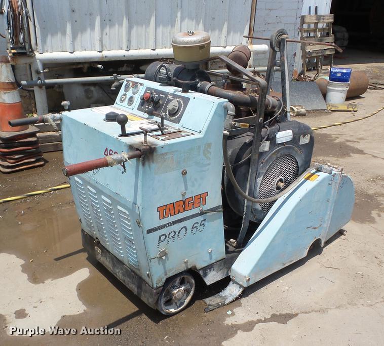 Target Pro 65 concrete saw