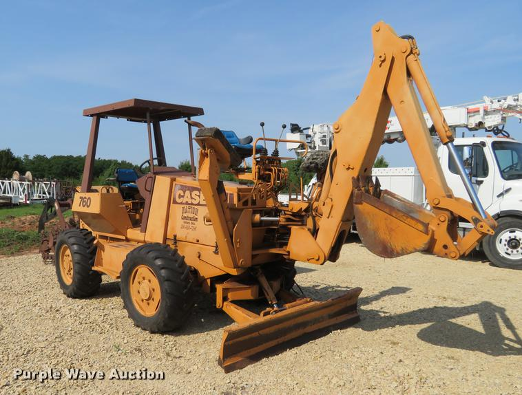 1988 Case 760 trencher