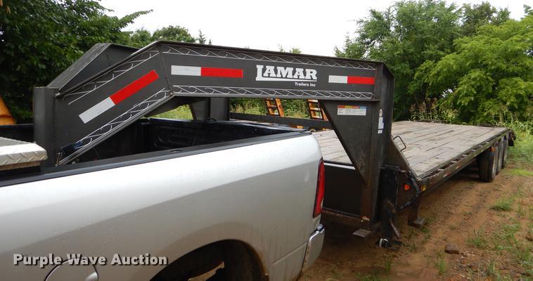 2014 Lamar equipment trailer