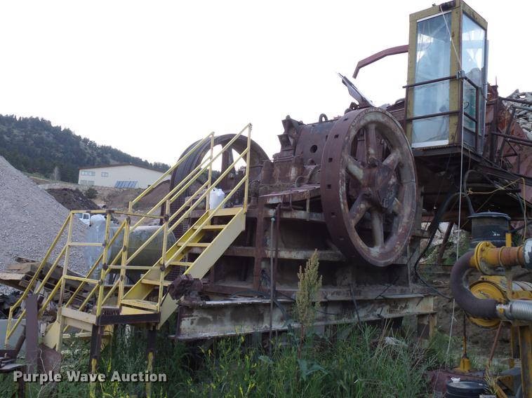 Taylor HB jaw crusher