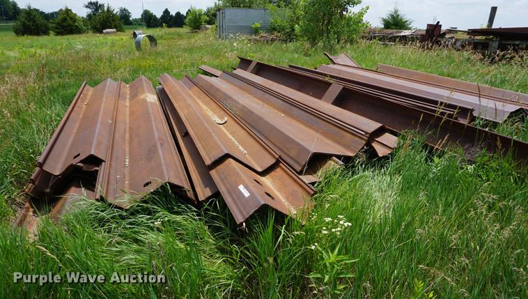 Bridge sheet pilings