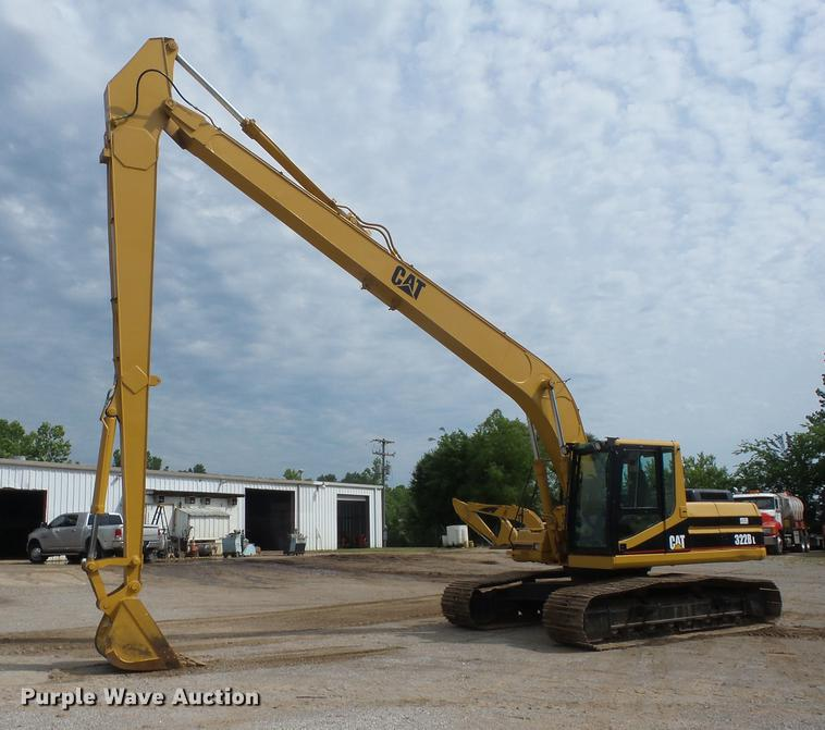 1998 Caterpillar 322B L long reach excavator