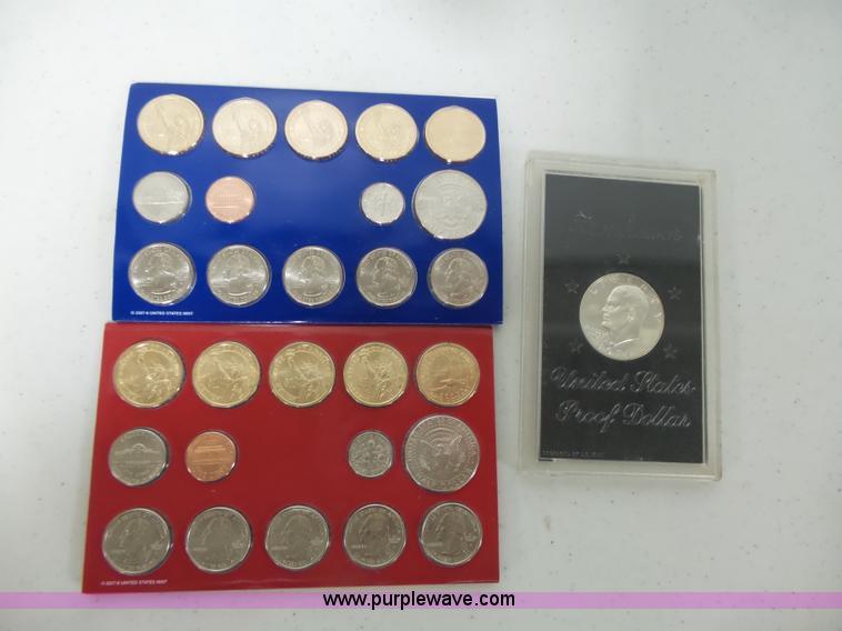 (3) collectible coins