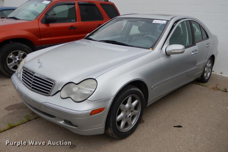 2001 Mercedes Benz C320