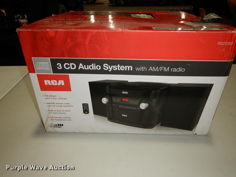 RCA audio system
