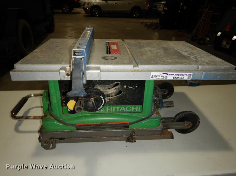Hitachi C10FR table saw