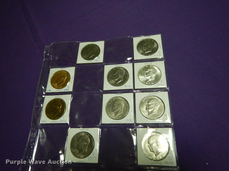 (10) Eisenhower dollars