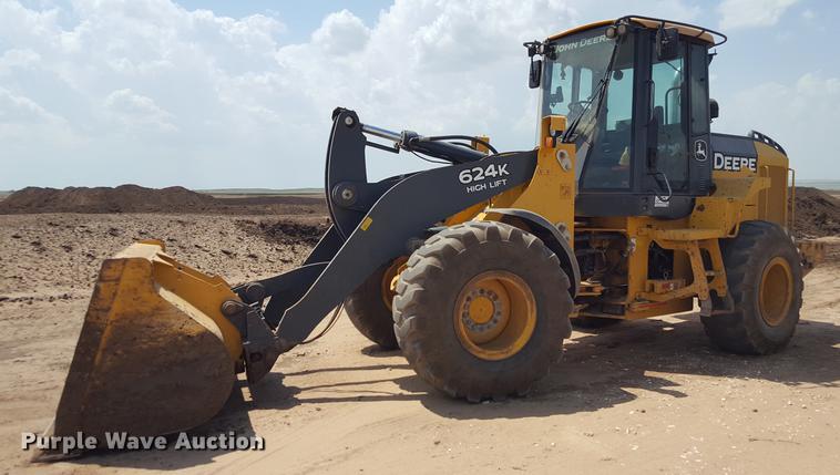 2010 John Deere 624K High Lift wheel loader