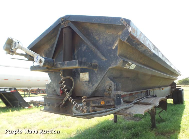 2001 Thurston Circle R side dump trailer