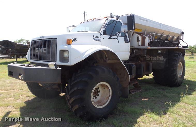 1995 GMC TopKick C6500 Stahly applicator truck