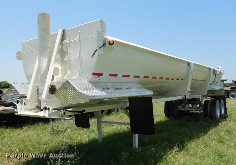 2008 Ranco barrel bed end dump trailer