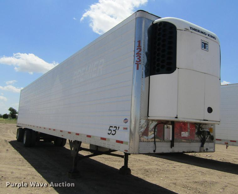 2004 Utility 3000R refrigerated van trailer