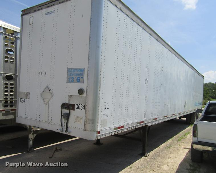 1996 Wabash National dry van trailer