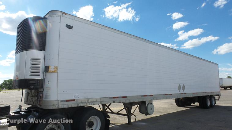 1997 Wabash refrigerated van trailer